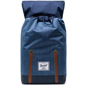 Herschel Retreat Backpack 19,5l faded denim/indigo denim